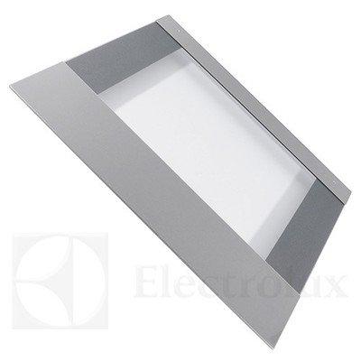 Zewnętrzna szyba drzwi piekarnika z obramowaniem ze stali nierdzewnej (3874970753)