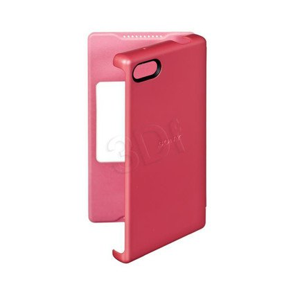 Sony Etui do telefonu Style Cover Window SCR44 Z5 Compact koralowy