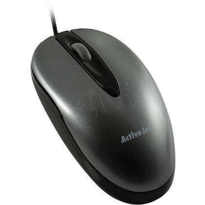 ActiveJet Mysz optyczna AMY-005 USB-POZŁACANE STYKI