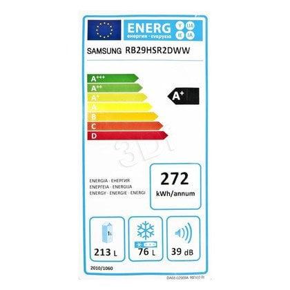 Chłodziarko-zamrażarka Samsung RB29HSR2DWW/EF (595x1780x668mm biały A+)