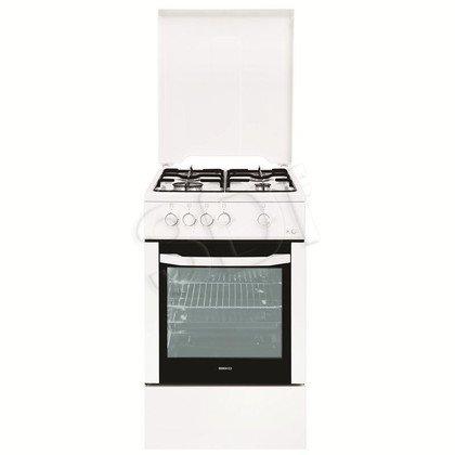 Kuchnia Beko CSG 52020 FW (Płyta Gazowa Piekarnik Gazowy szer. 500mm Biały)