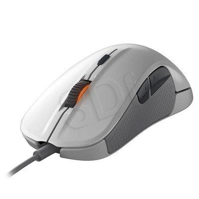 Steelseries Mysz przewodowa optyczna Rival 300 6500cpi biała