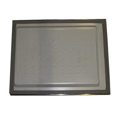 Drzwi zamrażarki srebrne (1020176)