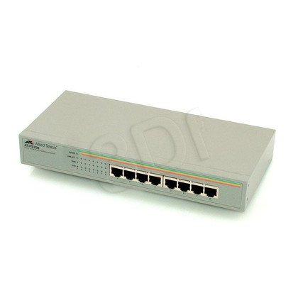 Allied Telesis Unmanaged (AT-FS708) 8x10/100Mbps Rack Switch, wew. zasilacz