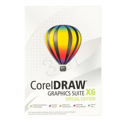 CorelDRAW Graph.Suite X6 Spec.Editi. PL/CZ BOX
