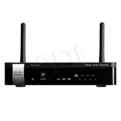 CISCO RV215W-E-K9-G5 Router VPN Firewall
