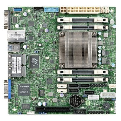 Supermicro Płyta główna serwerowa MBD-A1SAI-2750F-O FCBGA 1283 Mini-ITX