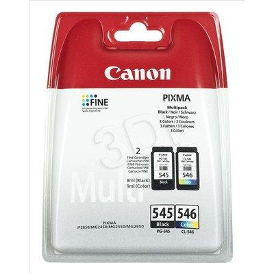 CANON Tusz PG-545/CL-546=PG545/CL546=8287B005, Zestaw Bk+Kolor, PG-545+CL-545