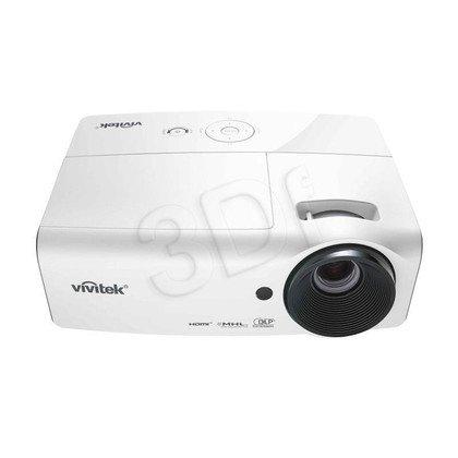 VIVITEK Projektor D555WH-EDU DLP 1024x768 3000ANSI lumen 15000:1 5 LAT GWARANCJI DLA SZKÓŁ