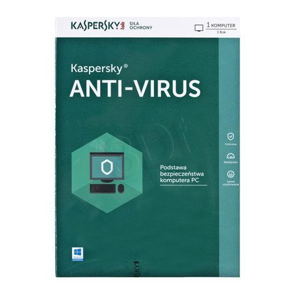 Kaspersky Anti-Virus 2016 1D/12M
