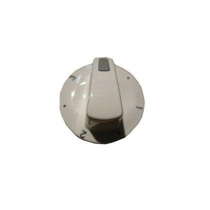 Pokrętło płytki grzejnej 3 z lewej PMG610.00/09.272.01 białe wskaźnik szary prostokąt (8008494)
