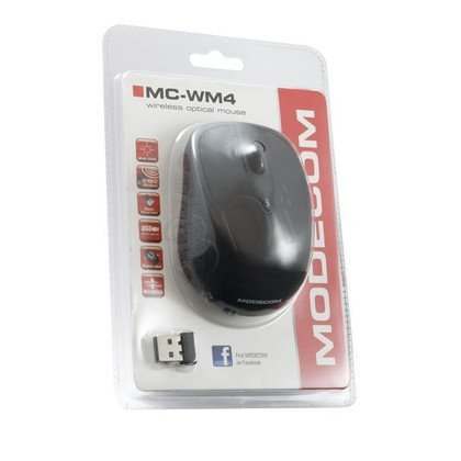 BEZPRZEWODOWA MYSZ MODECOM MC-WM4 nano-USB BLACK