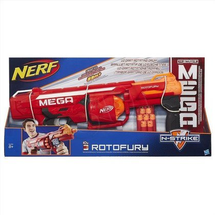 NERF NSTRIKE MEGA ROTOFURY HASBRO B1269