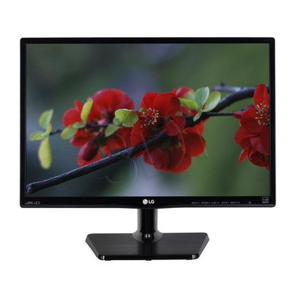 "Monitor LG 20MP47A-P LED 19,5"" WXGA+ IPS czarny"