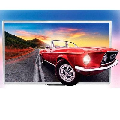 """TV 60"""" LCD LED Philips 60PFL9607S/12 (Tuner Cyfrowy 1200Hz Smart TV Tryb 3D USB LAN,WiFi)"""