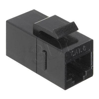 Bachmann 940.112 Keystone RJ45-RJ45 UTP kat.6 G/G, czarny