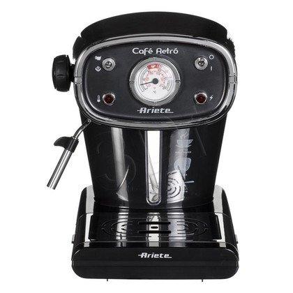 Ekspres ciśnieniowy manualny Ariete Cafe Retro 1388 (900W czarny)