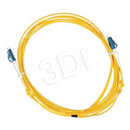 ALANTEC patchcord światłowodowy SM LSOH 3m LC-LC duplex 9/125 żółty