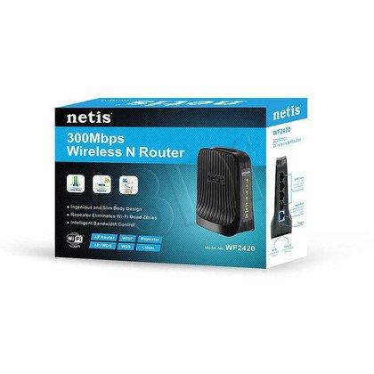 NETIS ROUTER WIFI G/N300 DSL+4 LAN WF2420