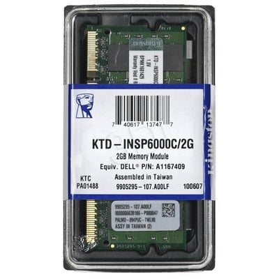 KINGSTON DED.NB KTD-INSP6000C/2G 2GB 800MHz DDR2