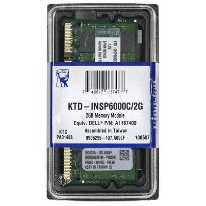 KINGSTON DED.NB KTD-INSP6000C/2G 2GB 800MHz DDR2