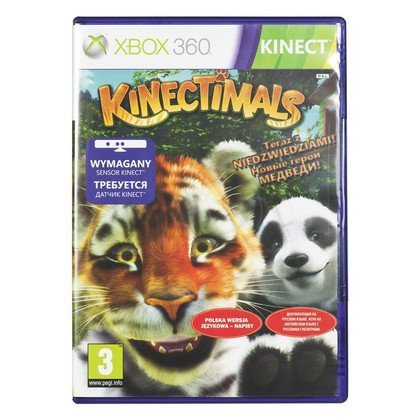 Gra Xbox 360 Kinectimals Now With Bears