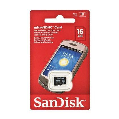 SANDISK MICRO SD 16GB Class 4