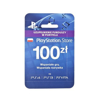 Live Karta Playstation Network 100zł