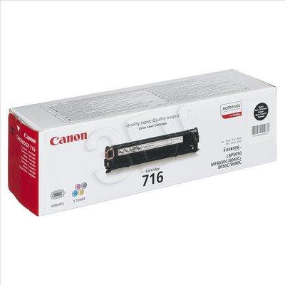 CANON Toner Czarny 716BK=CRG716Bk=1980B002, 2300 str.