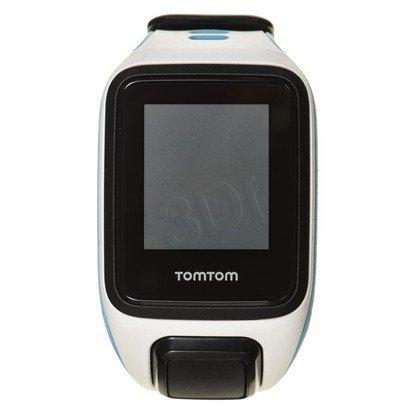 Tomtom zegarek sportowy Runner 2 Music S biały/ciemnobłękitny