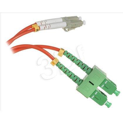 ExtraLink Patchcord OM2 LC/UPC-SC/APC DUP 50/125 1m