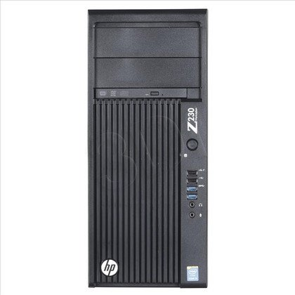 HP Z230 TWR i5-4590 4GB 500GB HD 4600 W7P W8.1P J9B52EA 3Y