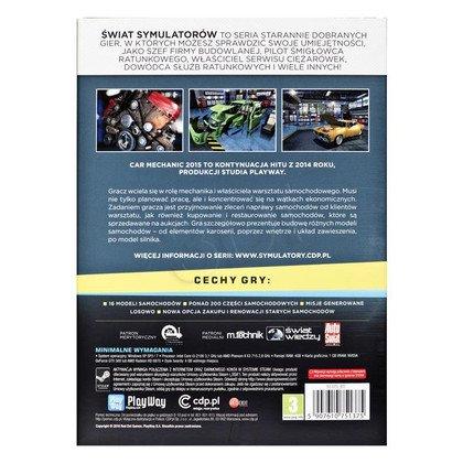 Gra PC NSS Car Mechanic Simulator 2015