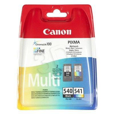CANON Tusz PG-540/CL-541=PG540/CL541=5225B006, Zestaw Bk+Kolor, PG-540+CL-541