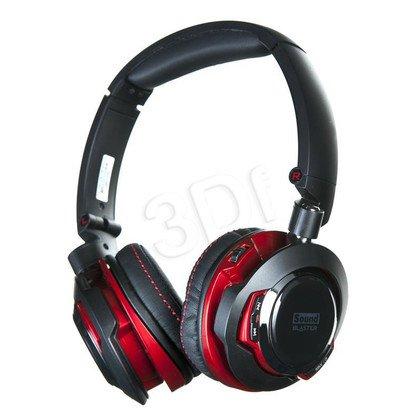 Słuchawki nauszne z mikrofonem Creative Sound Blaster EVO ZX (czarno-czerowny Bluetooth,NFC)