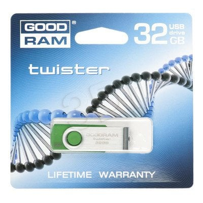 GOODDRIVE FLASHDRIVE 32GB USB 2.0 TWISTER D.Green