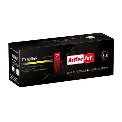 ActiveJet ATX-6000YN żółty toner do drukarki laserowej Xerox (zamiennik 106R01633) Supreme