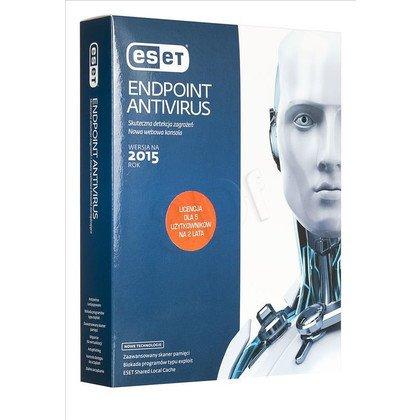 ESET Endpoint Antivirus - 5 STAN/24M UPG