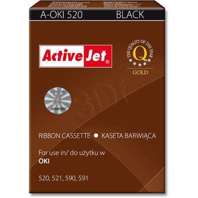 ActiveJet A-OKI520 kaseta barwiąca kolor czarny do drukarki igłowej Oki (zamiennik 09002315)