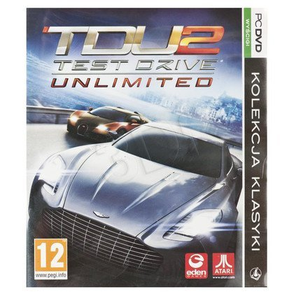 Gra PC PKK TEST DRIVE UNLIMITED 2