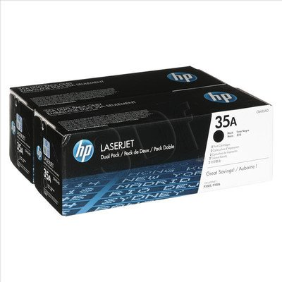 HP Toner HP35Ax2=CB435AD, Zestaw 2xBk, 2xCB435A