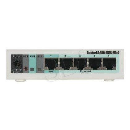 MikroTik RB951G-2HnD Router N300 L4 4xGLAN USB
