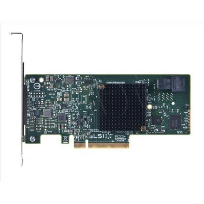 KONTROLER HBA SAS/SATA LSI 9300-4i 12Gb/s 4P W SGL