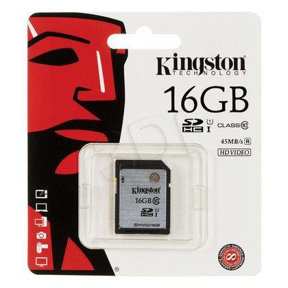 Kingston SDHC SD10VG2/16GB 16GB Class 10,UHS Class U1