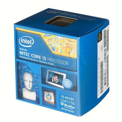PROCESOR CORE I5 4570T 2.9GHz LGA1150 BOX