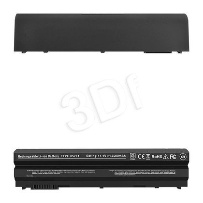 QOLTEC BATERIA DO DELL E6420 | 4400MAH | 10.8-11.1V