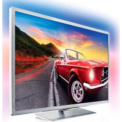 "TV 60"" LCD LED Philips 60PFL9607S/12 (Tuner Cyfrowy 1200Hz Smart TV Tryb 3D USB LAN,WiFi)"