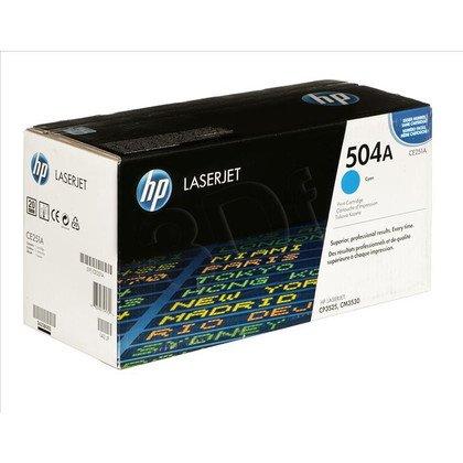 HP Toner Niebieski HP504A=CE251A, 7000 str.