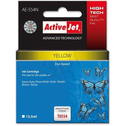 ActiveJet AE-554N (AE-554) tusz yellow pasuje do drukarki Epson (zamiennik T0554)