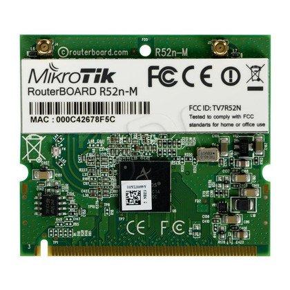 MikroTik R52NM karta miniPCI Atheros AR9220 a/g/n